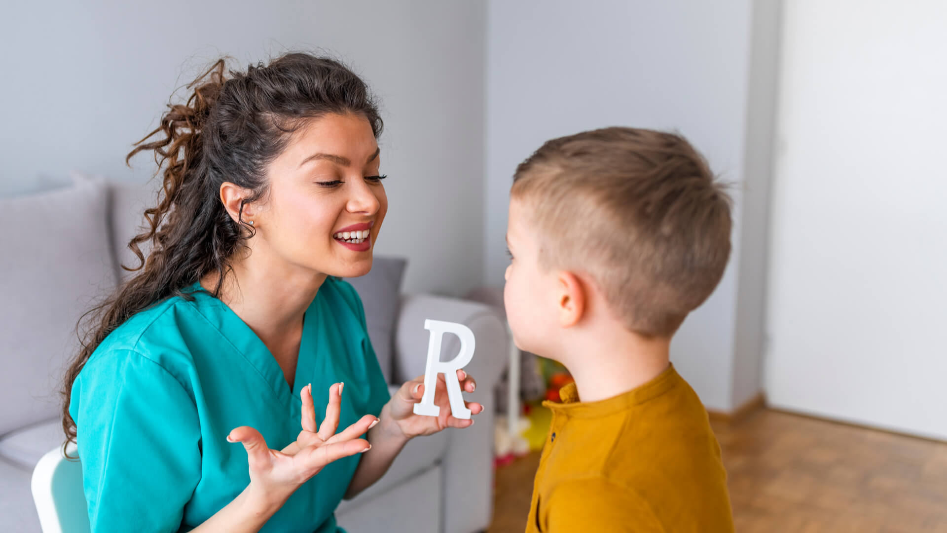 R Articulation Speech Therapy