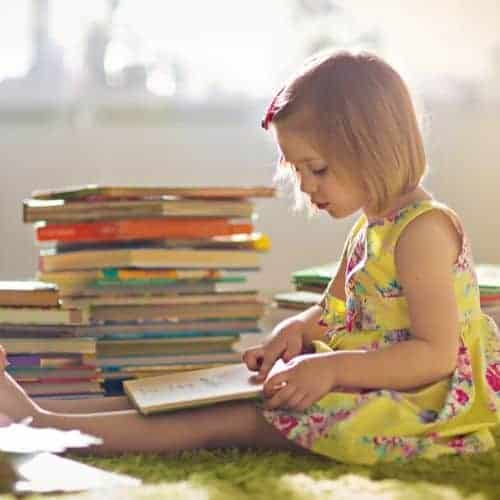 Teach your children to love books