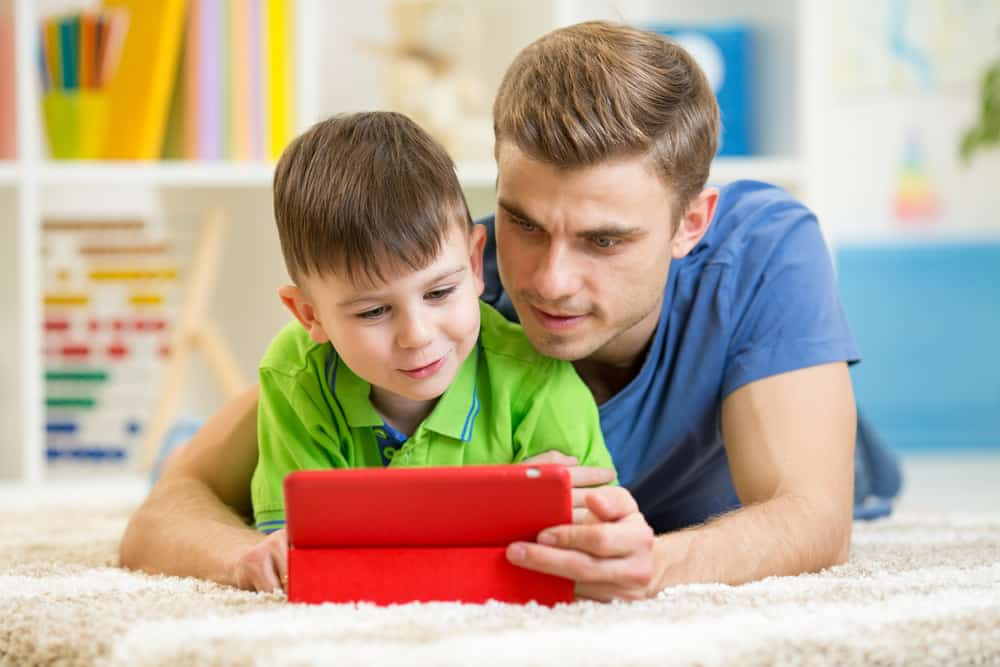 Get involved in screen time with your kids.