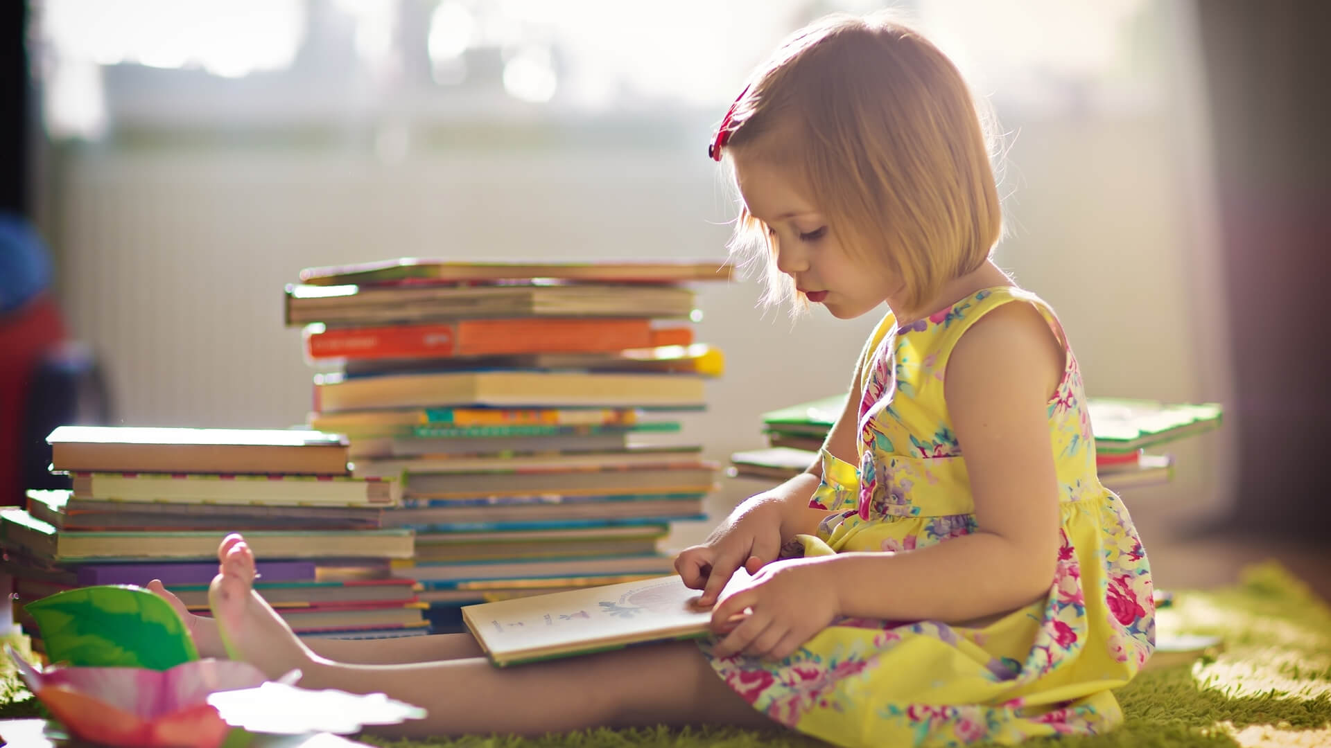 Early love of books and reading development