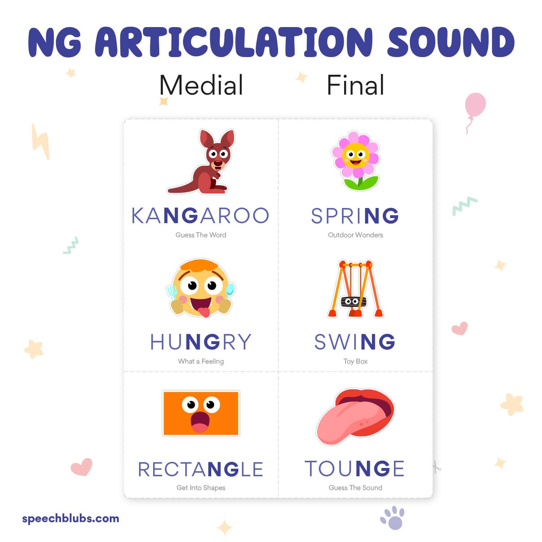 Articulation Bingo NG Sound