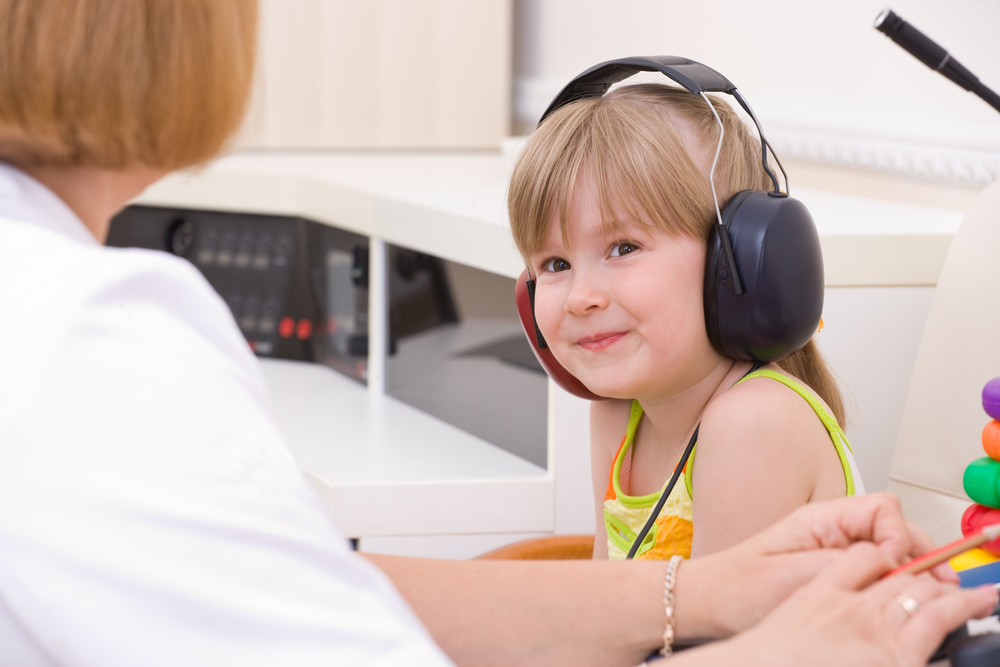 Before going to speech therapy you need to do a hearing test