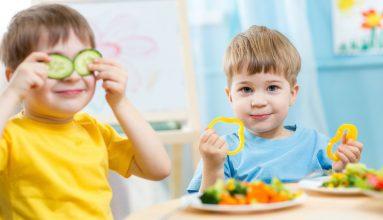 Teach kids about food