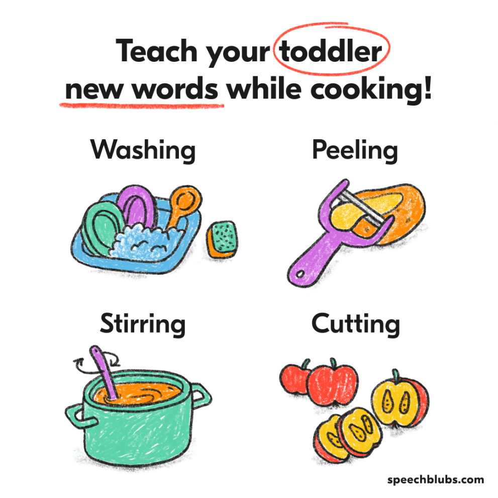 Language activities to do during family meals