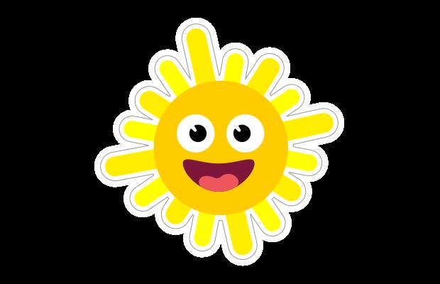 Sun Sticker Speech Blubs