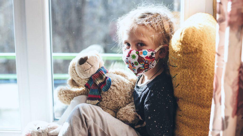 DIY face mask for kids
