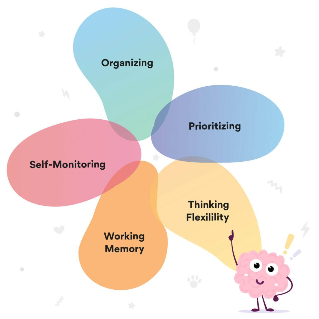Five Executive Functioning Areas