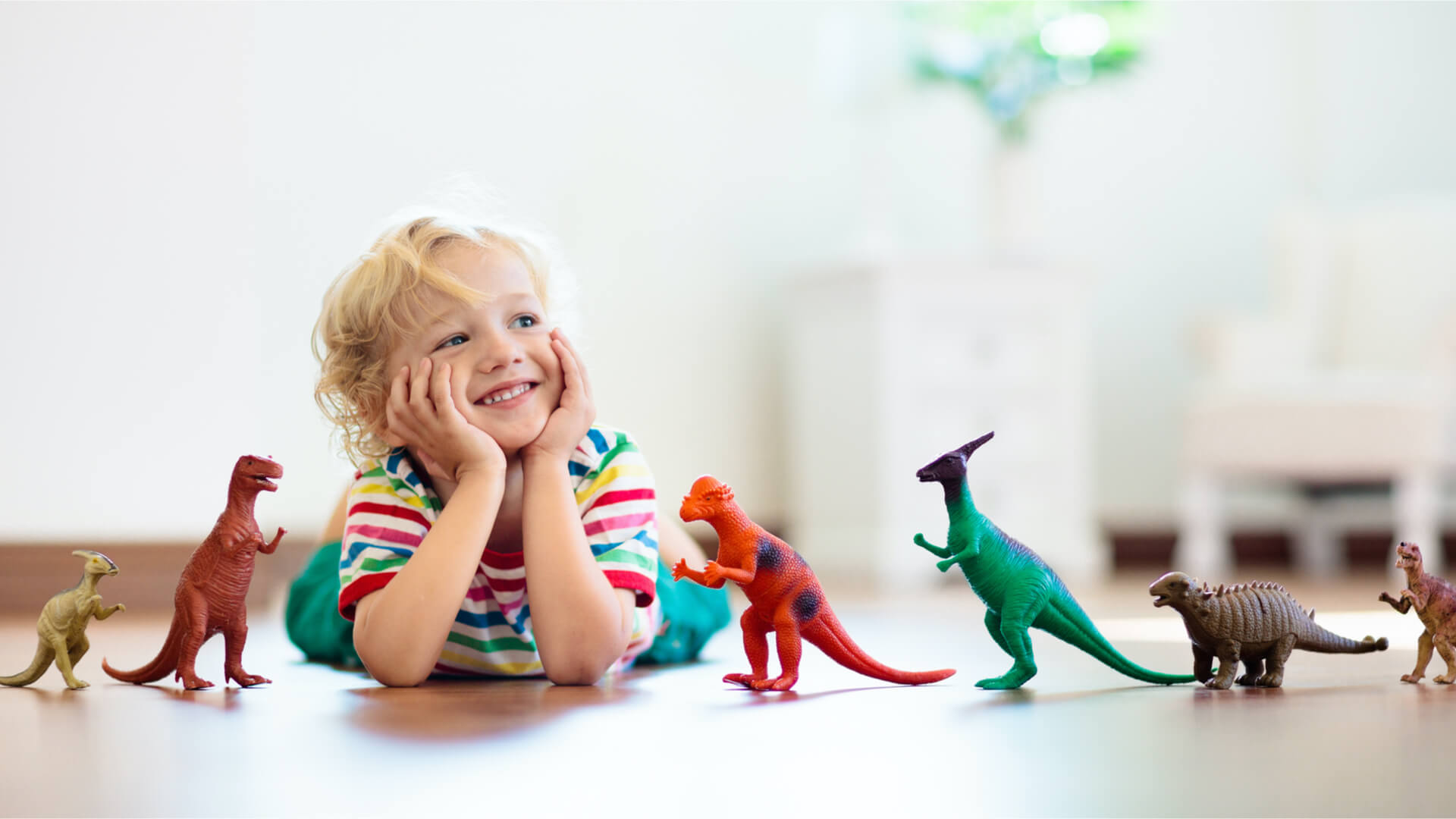 dinosaurs kids play
