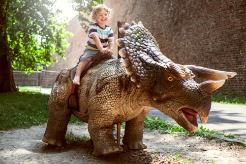 Kid in Dino Park