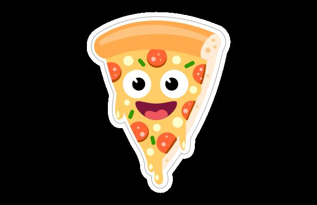 Speech Blubs Sticker Food Pizza