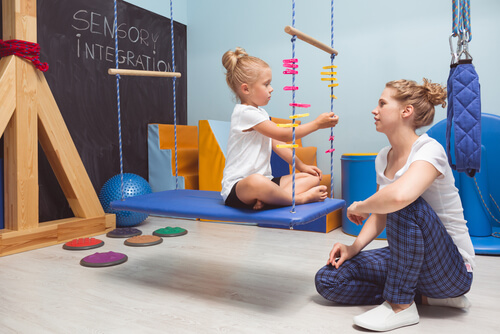 Occupational therapy for autism kids