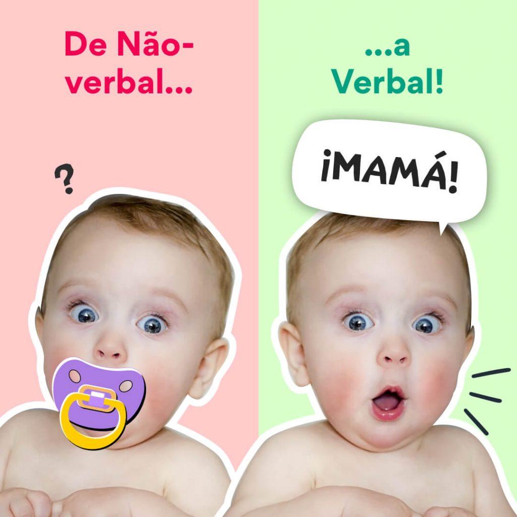 speech blubs portuguese nonverbal to verbal