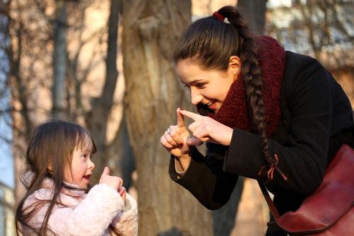 Sign Language Down Syndrome Speech Development