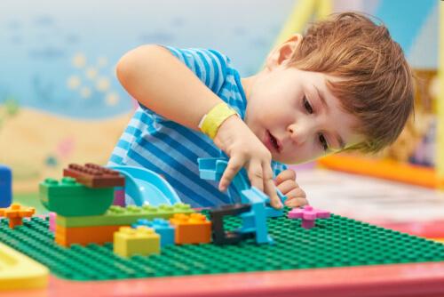 cognitive development building legos