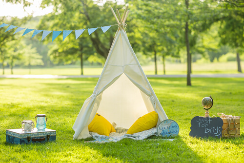 Kids Only Tent