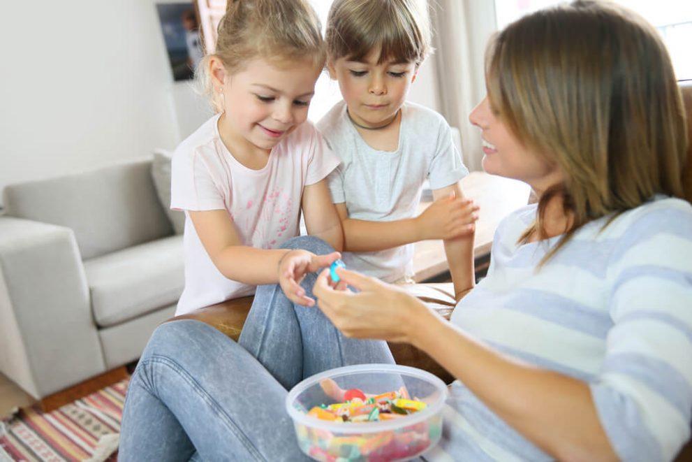 Halloween Candy Games for Speech Development