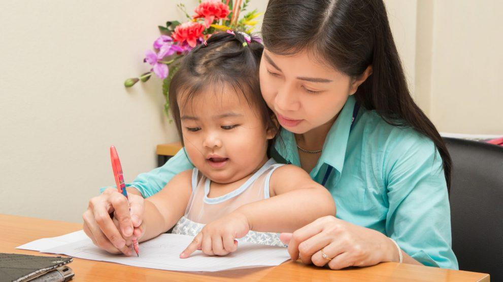 How to teach kids to write