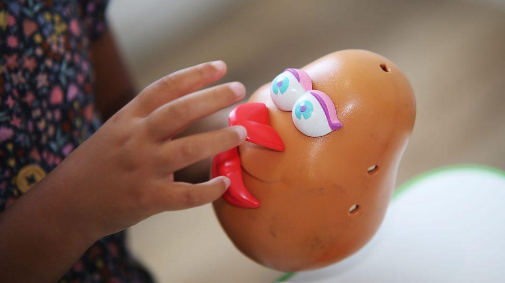 Mr Potato Head for Speech Therapy