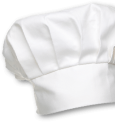 Chef hat sticker